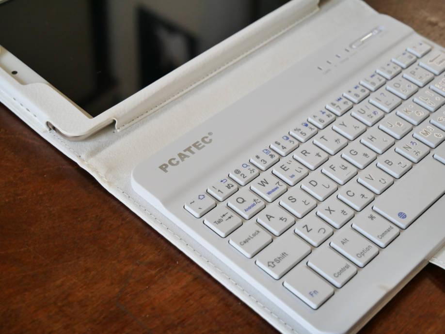 Bluetoothキーボード付きケース