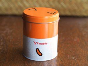 ワイモバの缶