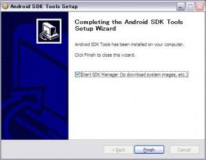 Android SDKインストール完了!