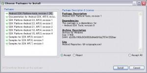 SDK Managerをセッティング1