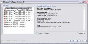 SDK Managerをセッティング2